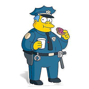 Police Chief Wiggum Lifesize Cardboard Cutout / Standee (The Simpsons)