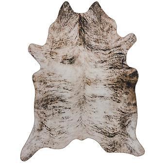 Alfombras de cuero del Faux de Texas en gris