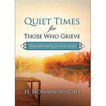 Ruhezeiten für diejenigen, die trauern