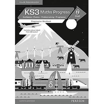 KS3 Maths Progress Progression Workbook Delta 1 (KS3 Maths series)