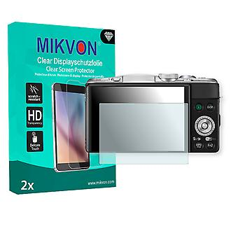 Panasonic Lumix DMC-GF6X Screen Protector - Mikvon Clear (Retail Package with accessories)