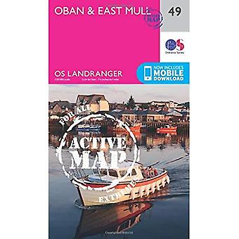 Oban & East Mull (OS Landranger Map)