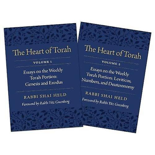 The Heart of Torah, Gift Set  Essays on the Weekly Torah Portion