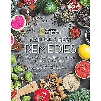 Mejores remedios de la naturaleza: superior hierbas medicinales, especias y alimentos para la salud y bienestar