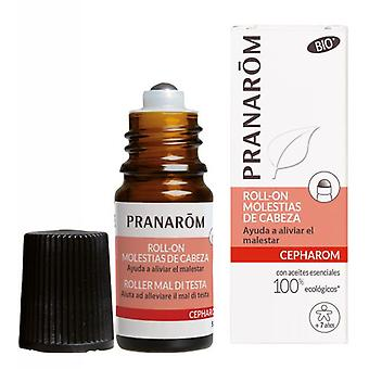 Pranarom Roll on Head Discomfort 5 ml (Hygiene and health , Special Cares , Muscle Pain)