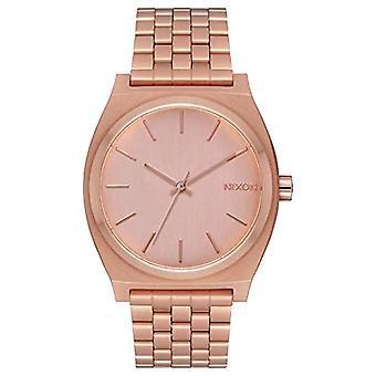 Nixon Unisex analog quartz watch with stainless steel band _ A045-1957 _ Dark Copper