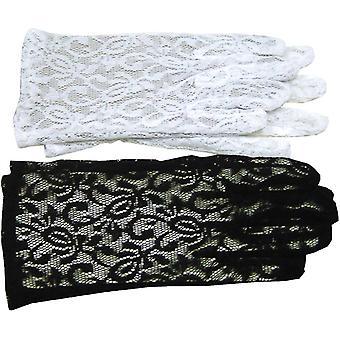 手袋レース ブラック