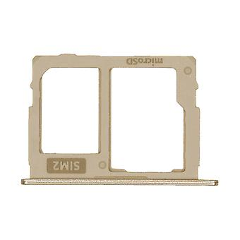 Genuine Galaxy J530 Gold SIM & Memory Card Tray | iParts4u