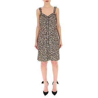 Andamane Leopard Cotton Dress