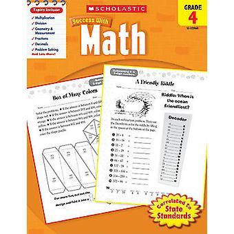 Math - Grade 4 by Scholastic - Inc - 9780545200684 Book