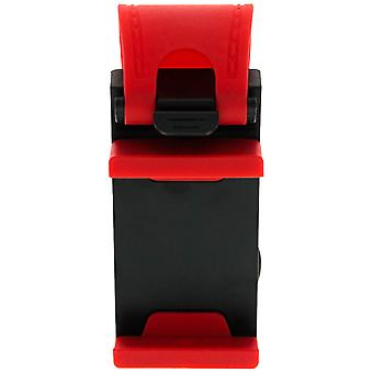 Car mount clip for smartphone-Red and Black clip.