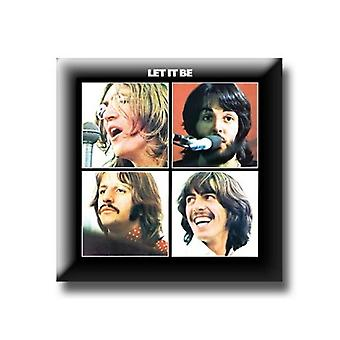 The Beatles Let it Be Album new Official Metal Pin badge