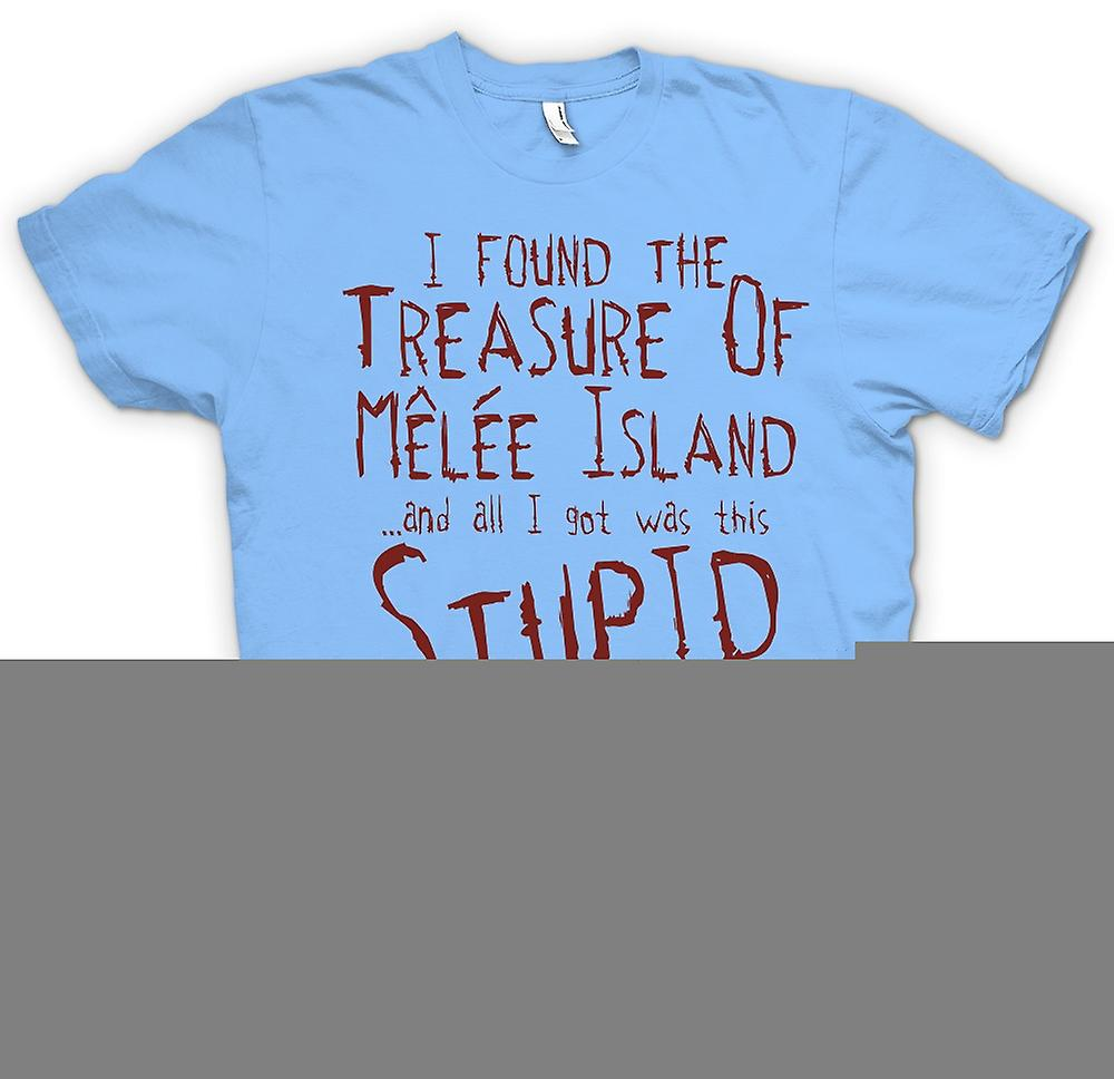Mens T-shirt - I Found The Treasure Of Melee Island And All I Got Was This