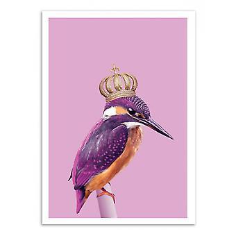 Kunst-Poster - Queen Fisher - Jonas Loose 50 x 70 cm