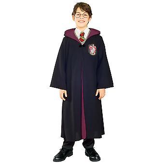 Harry Potter Deluxe Hogwarts licenseret Robe bog uge barn drenge kostume