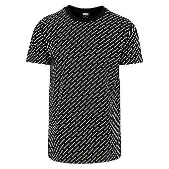 Urban Classics Men's T-Shirt Allover Logo Tea