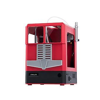 Creality 3d cr-100 full assemblato 3d stampante rosso/blu 100 ,100 - 80mm di dimensioni di stampa 1.75mm 0.4mm supporto off-line stampa