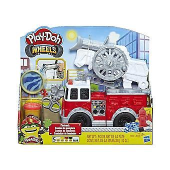 Play-Doh wielen brandweerwagen