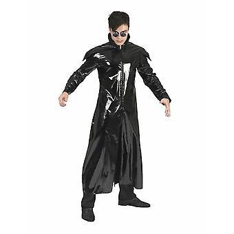 Matrix Sience Fiction Cappotto Da uomo Dracula Signore dell'Oscurità Cappotto Mens Costume