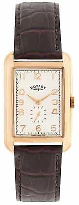Rotary Portland Mens Rose Tone Dress GS02699/01 Watch