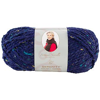 Deborah Norville Collection Serenity Chunky Tweed Yarn-Eclipse DN900-3