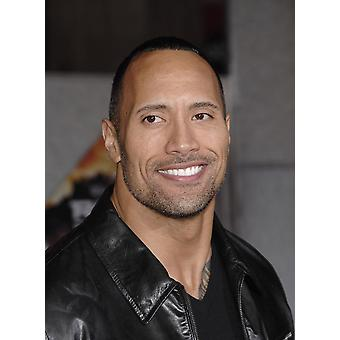 Dwayne Johnson At Arrivals For Race To Witch Mountain Premiere El Capitan Theatre Los Angeles Ca March 11 2009 Photo By Michael GermanaEverett Collection Photo Print