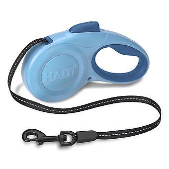 Halti løftbare Tape føre blå Medium 20kg - 5m