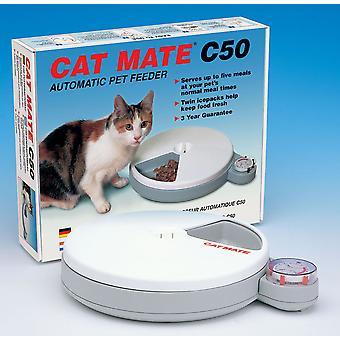 C50 Cat 5 måltid Feeder med 2 køleelementer