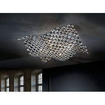Wellindal Saten Large Ceiling Lamp 5L. (Lighting , Interior Lighting , Ceiling Lights)