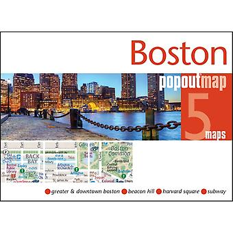 Boston (Popout Maps) (Map)
