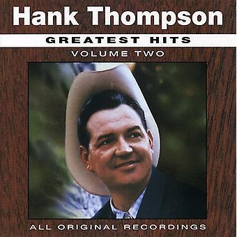 Hank Thompson - Hank Thompson: Vol. 2-All-Time Greatest Hits [CD] USA import