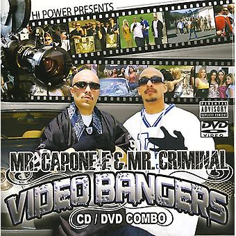 Hej præsenterer magt - Mr. Capone-E & Mr. Criminal Videos & B [CD] USA import