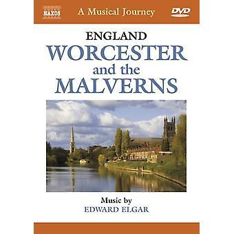E. Elgar - England: Worcester & the Malverns [DVD] USA import