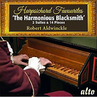 Robert Aldwinckle - Harpsichord Favourites [CD] USA import