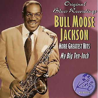 Importación de Bull Moose Jackson - más Greatest Hits [CD] Estados Unidos
