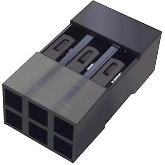Socket enclosure - cable Mini-PV Total number of pins 6 FCI 65043-034ELF Contact spacing: 2.54 mm 1 pc(s)