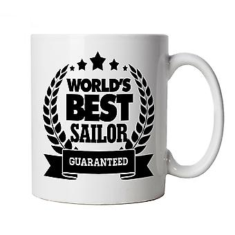 Vectorbomb, World's Best Sailor, Sailing Mug