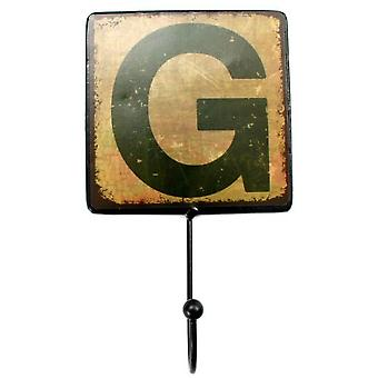 Superstudio Letters Decorative Metal hanger -Letra G--