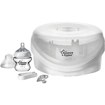 Tommee Tippee Closer To stérilisateur micro-ondes Nature
