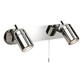 Firstlight Modern Polished Chrome Bathroom Single Spotlight