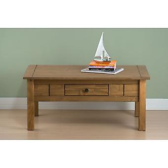 Birlea Santiago 1 Drawer Coffee Table Pine