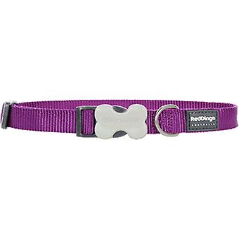 Red Dingo Smooth Dog Collar Purple (Dogs , Walking Accessories , Collars)