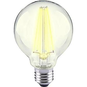 LED E27 Globe 12 W = 98 W Warm white (Ø x L) 80 mm x 115 mm EEC: A++ Sygonix Filament 1 pc(s)