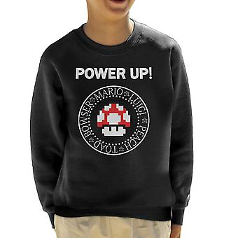 Ramones Mario Power Up Logo Kid Bluza