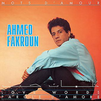Ahmed Fakroun - Mots D'Amour [CD] USA import