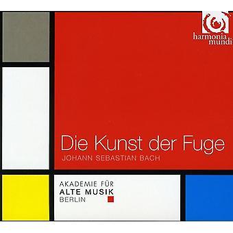 J.S. Bach - Bach: Importazione Die Kunst Der Fuge [CD] Stati Uniti d'America