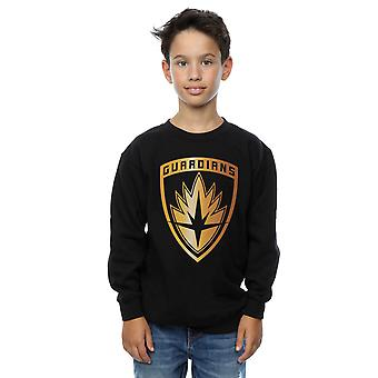 Marvel pojkar Guardians Of The Galaxy folie Badge Sweatshirt