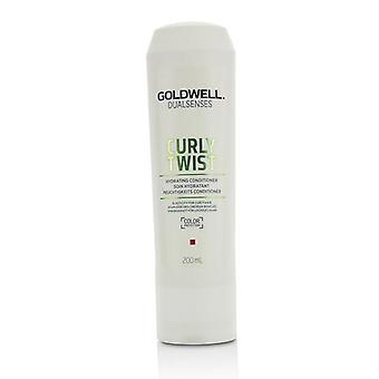 Goldwell Dual Senses Curly Twist Hydrating Conditioner (Elasticity For Curly Hair) - 200ml/6.8oz