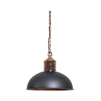Light & Living Hanging Lamp Ø52x42cm AMELY Industrial Grey/antique Copper