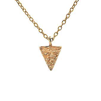 Треугольник - 925 стерлингового серебра Обычная ожерелья - W19860X